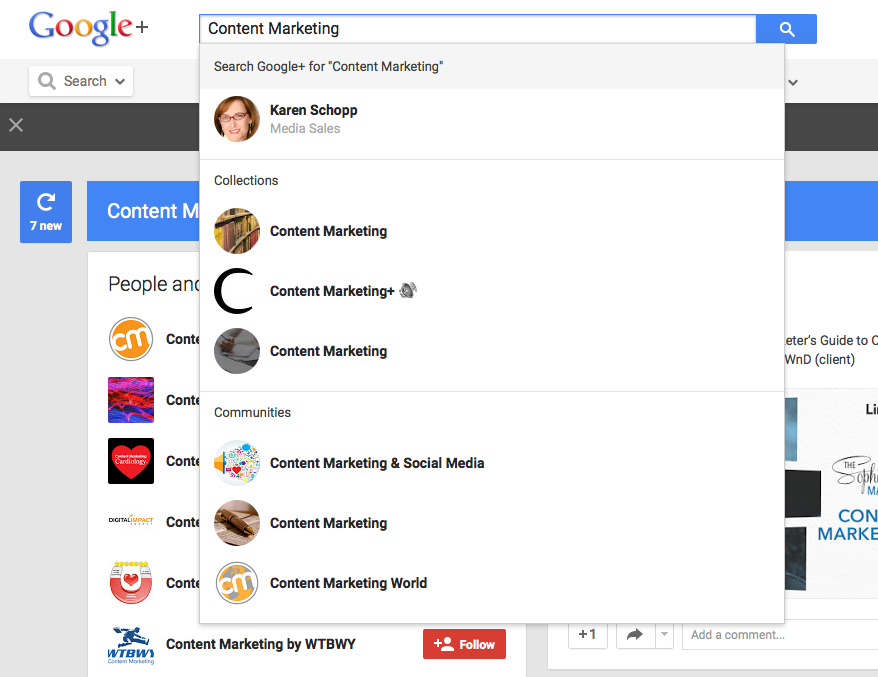Top Social Media Network for Content Marketers: Google Plus