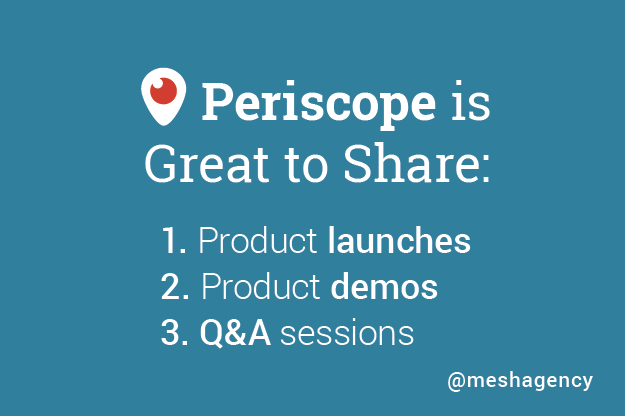 Top Social Media Network for Content Marketers: Periscope