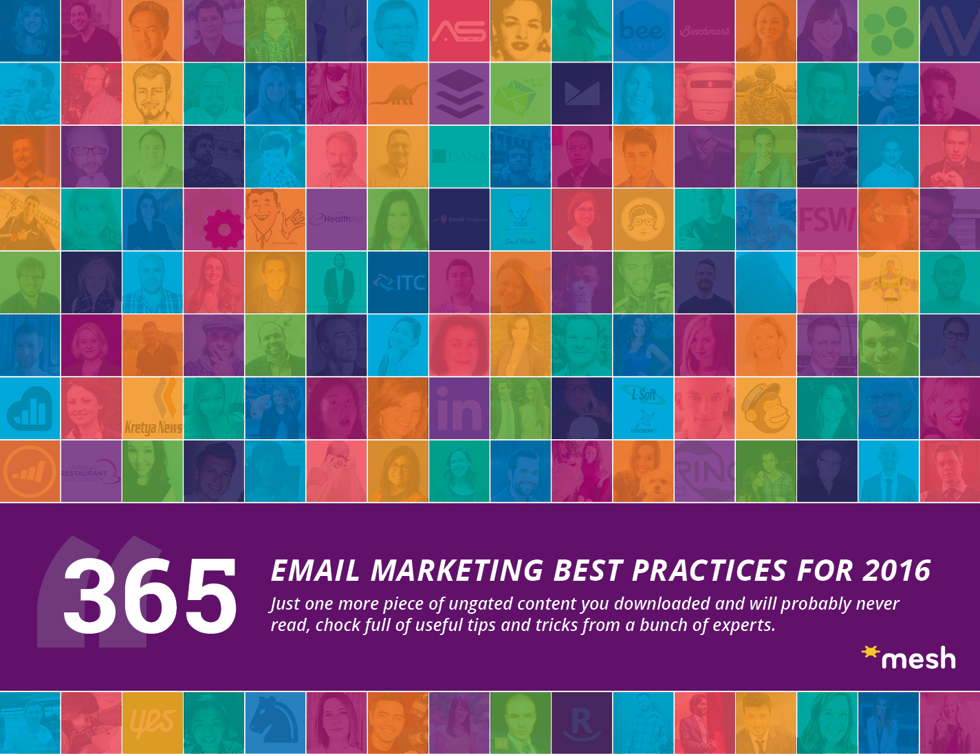 365 Email Marketing Best Practices for 2016 via @meshagency #365EmailTips