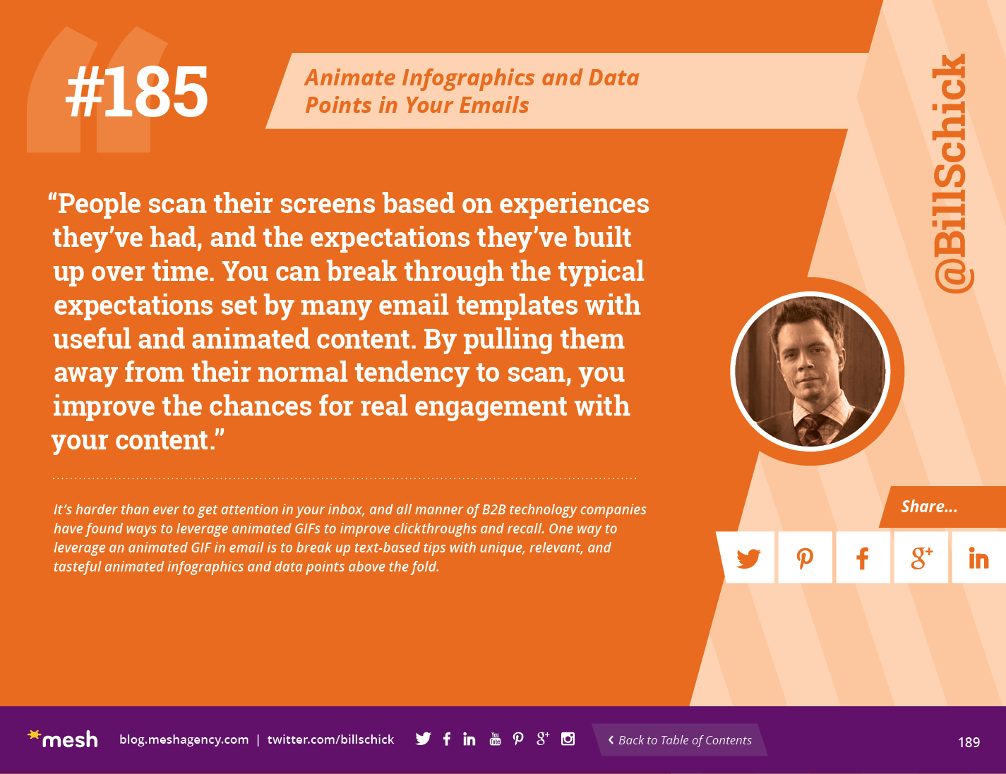#185: Animate Infographics and Data Points in Your Emails via @meshagency #365EmailTips