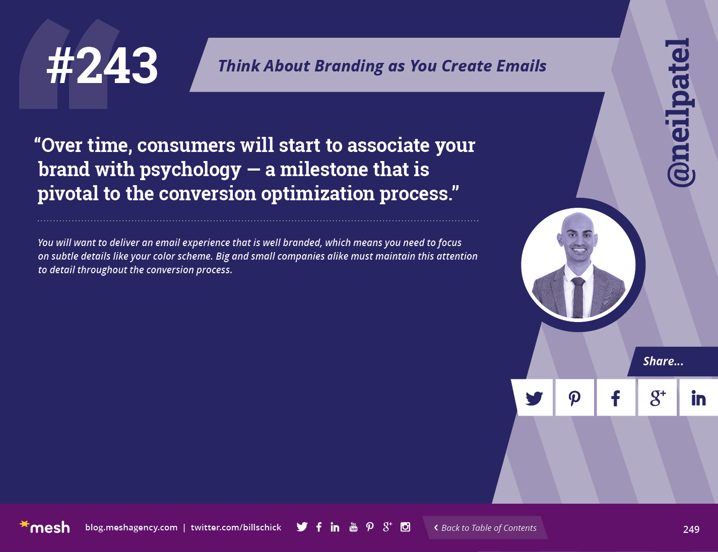 #243: Think About Branding as You Create Emails via @meshagency #365EmailTips