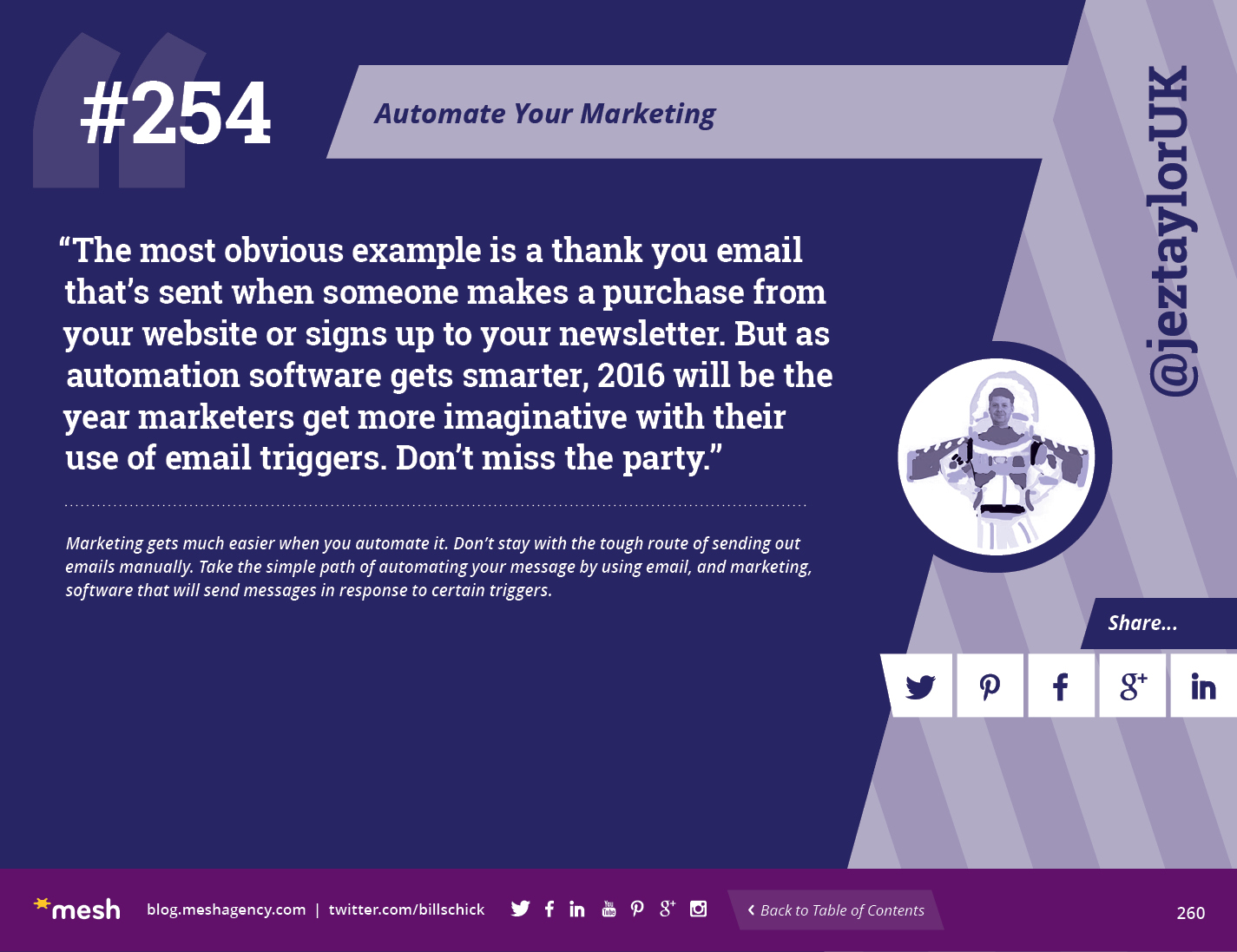 #254: Automate Your Marketing via @meshagency #365EmailTips