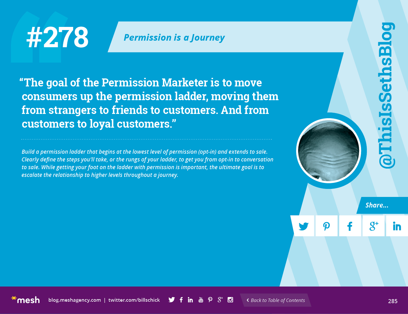 #278: Permission is a Journey via @meshagency #365EmailTips