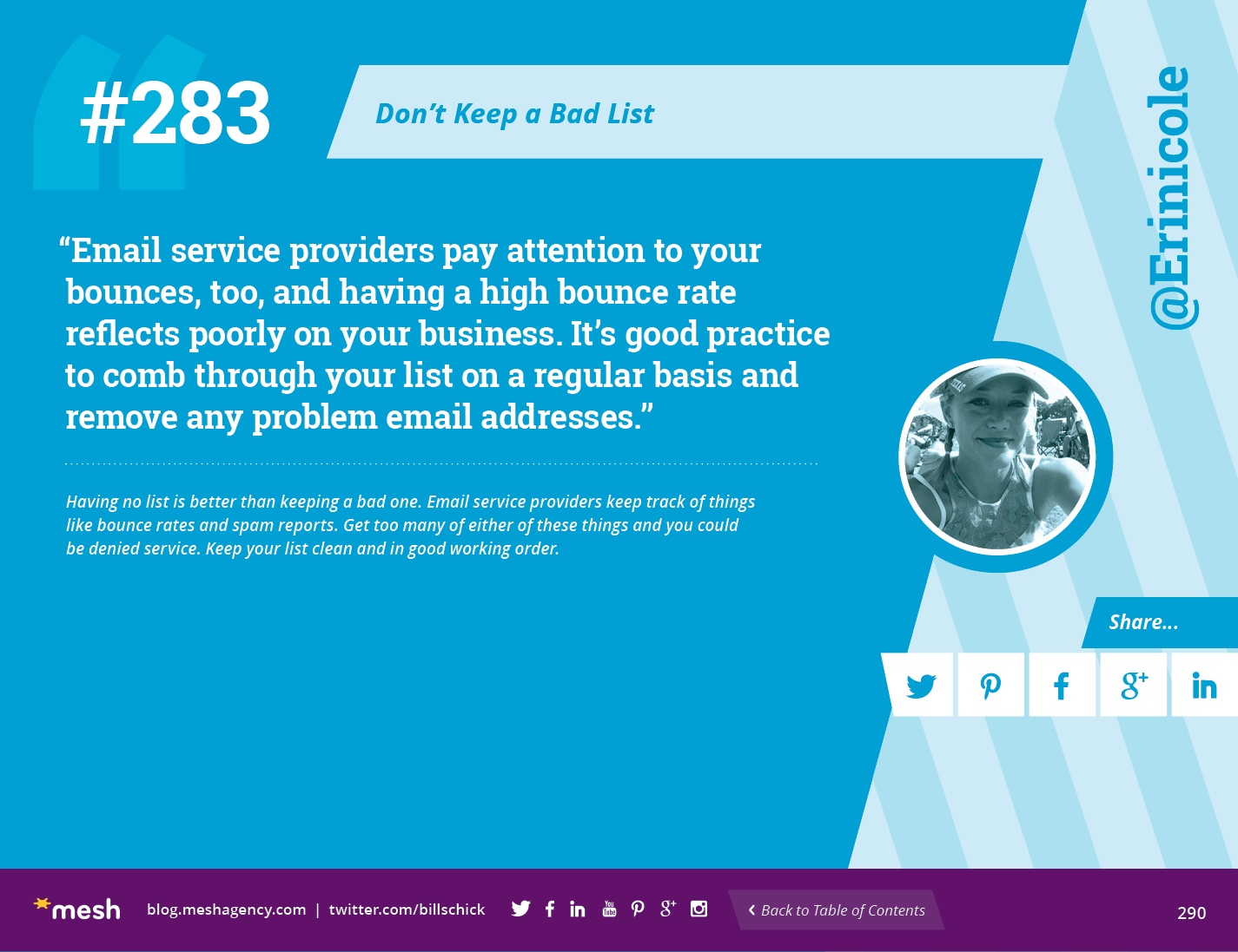 #283: Don't Keep a Bad List via @meshagency #365EmailTips