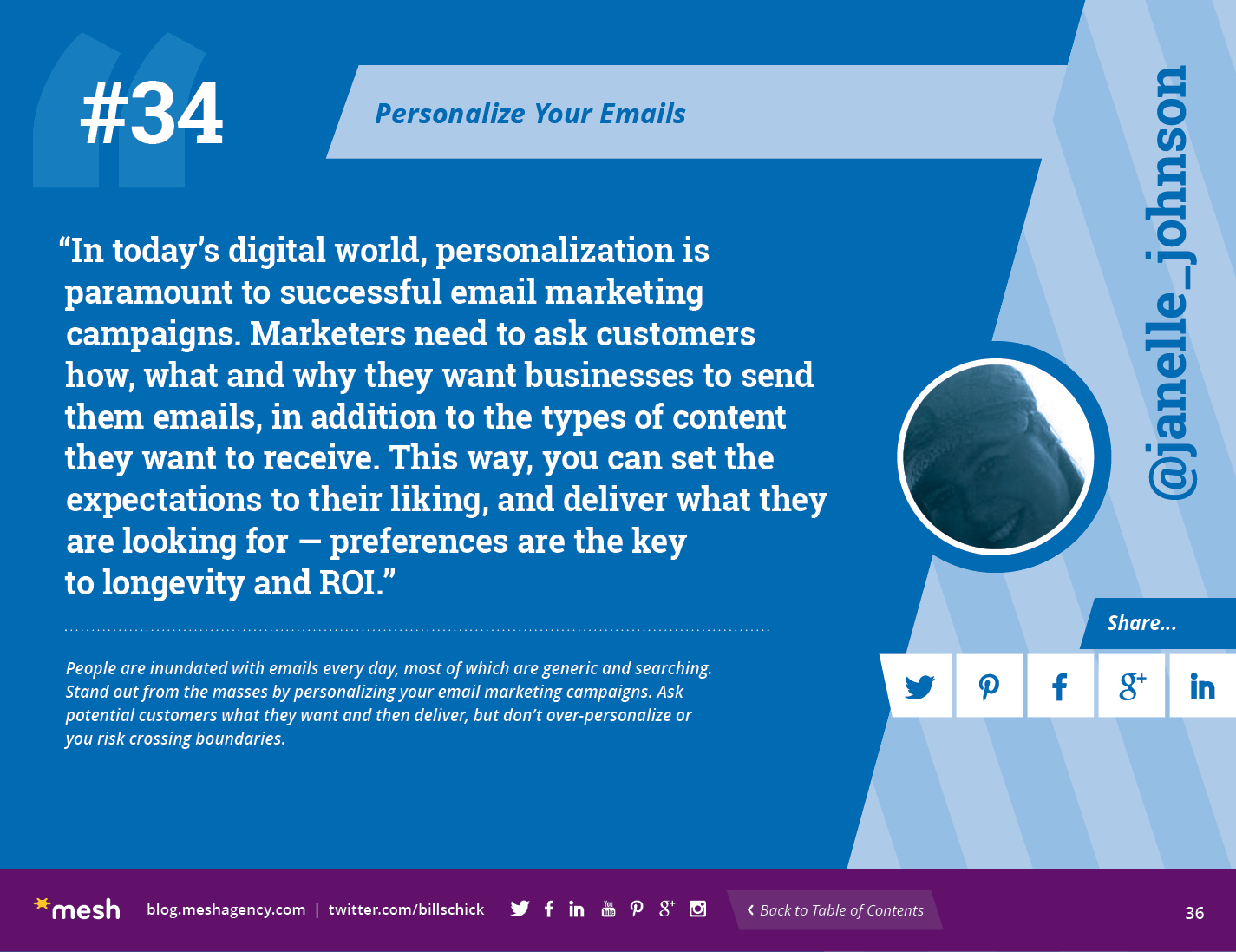 #34: Personalize Your Emails via @meshagency #365EmailTips