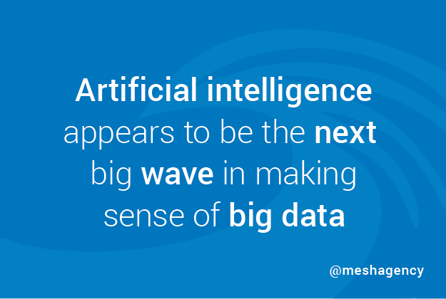 artificial intelligence makes sense of big data