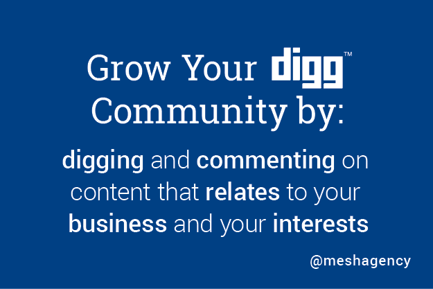 Top Social Media Network for Content Marketers: Digg