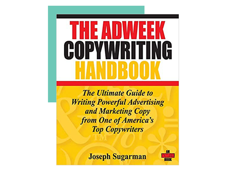 Book cover of The AdWeek Copywriting Handbook